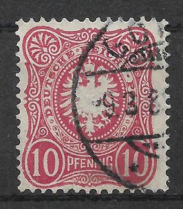Deutsches Reich PFENNIG 41 Ib gestempelt (BPP WIEGAND) (VII)