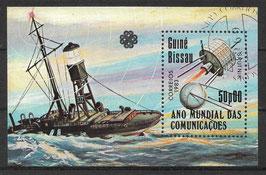 GUINEA-BISSAU Block 254 gestempelt