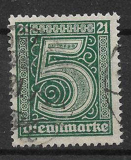 Deutsches Reich DIENST 16 gestempelt (INFLA)