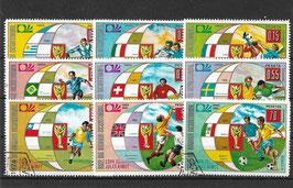 ÄQUATORIAL-GUINEA 275-283 gestempelt