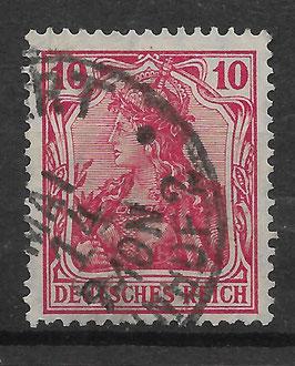 Deutsches Reich GERMANIA 86 Ib gestempelt (BPP JÄSCHKE)