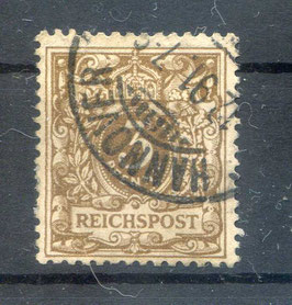 Deutsches Reich KRONE & ADLER 45a gestempelt (BPP JÄSCHKE) (5)