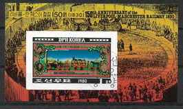 Nordkorea Block 86 gestempelt