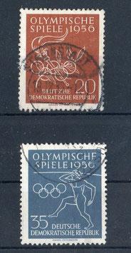 DDR 539-540 gestempelt