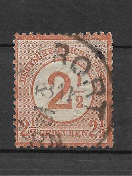 Deutsches Reich BRUSTSCHILD 29 gestempelt (BPP KRUG) (2)