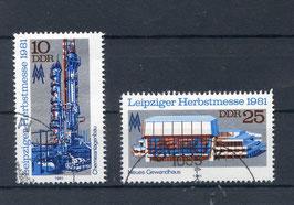 DDR 2634-2635 gestempelt