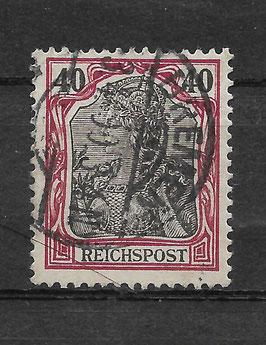 Deutsches Reich REICHSPOST 60 gestempelt