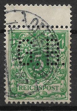 Deutsches Reich KRONE & ADLER 46c ZS gestempelt (BPP WIEGAND) (3)