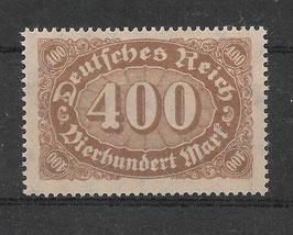 Deutsches Reich FREIMARKE ZIFFERN 222b postfrisch (BPP BAUER)