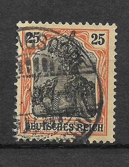 Deutsches Reich GERMANIA 88 IIb gestempelt (BPP JÄSCHKE)