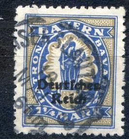 Deutsches Reich FREIMARKE 130 gestempelt