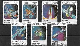 GUINEA-BISSAU 666-672 gestempelt