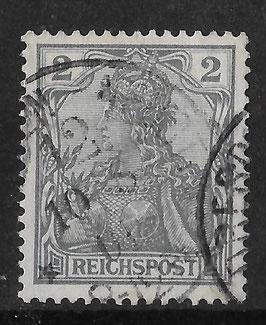 DR REICHSPOST 53 gestempelt (V)