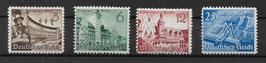 Deutsches Reich LEIPZIGER FRÜHJAHRSMESSE 739-742 postfrisch