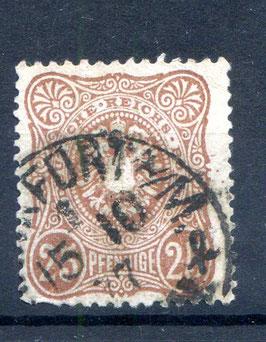 Deutsches Reich PFENNIGE 35a gestempelt (BPP JÄSCHKE) (4)
