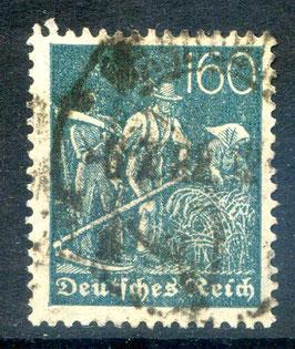 Deutsches Reich FREIMARKE 170 gestempelt