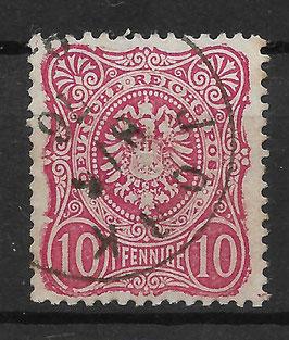 Deutsches Reich PFENNIGE 33a gestempelt (BPP WIEGAND) (2)