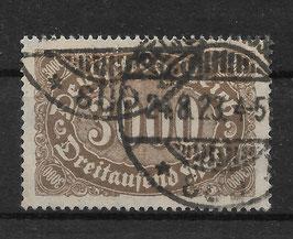 Deutsches Reich FREIMARKE ZIFFERN 254a gestempelt (INFLA)