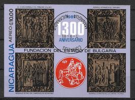 NICARAGUA Block 139 gestempelt