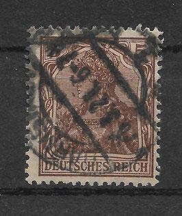 Deutsches Reich GERMANIA 140b gestempelt (BPP BAUER)