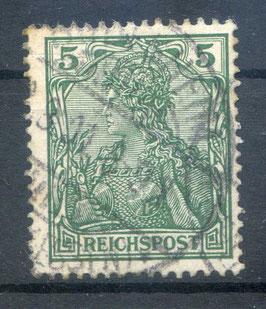 Deutsches Reich REICHSPOST 55 gestempelt (3)