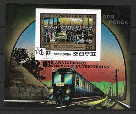 Nordkorea Block 87 gestempelt (2)