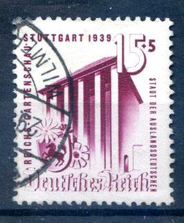 DR REICHSGARTENSCHAU 693 gestempelt