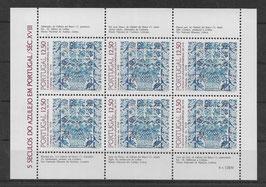 Portugal Kleinbogen 1611 postfrisch (2)