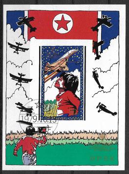 Nordkorea Block 64 gestempelt (2)