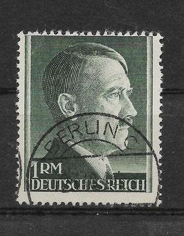 Deutsches Reich FREIMARKE ADOLF HITLER 799 A gestempelt (2)