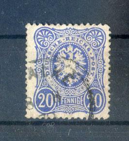 Deutsches Reich PFENNIGE 34a gestempelt (BPP JÄSCHKE) (2)