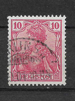 Deutsches Reich REICHSPOST 56a gestempelt (BPP JÄSCHKE) (IV)
