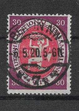 Deutschs Reich NATIONALVERSAMMLUNG 110c gestempelt (INFLA) (3)