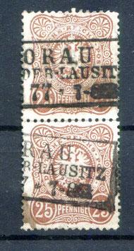 Deutsches Reich PFENNIGE 35a gestempelt als PAAR (BPP JÄSCHKE) (3)