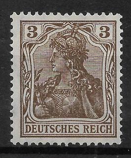 Deutsches Reich GERMANIA 84 IIa ungebraucht (BPP JÄSCHKE)