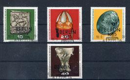 DDR 1553-1556 gestempelt