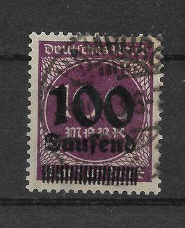 Deutsches Reich FREIMARKE 289a gestempelt (BPP BAUER)