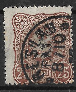 Deutsches Reich PFENNIGE 35a gestempelt (BPP WIEGAND) (2)