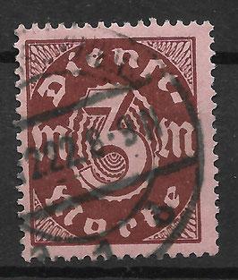 Deutsches Reich DIENST 67 gestempelt