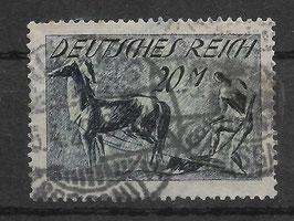 Deutsches Reich FREIMARKE 176a gestempelt (INFLA) (2)