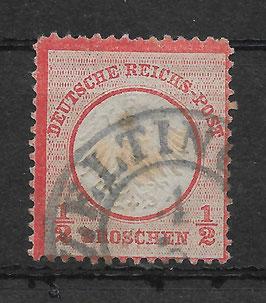 Deutsches Reich BRUSTSCHILD 3 gestempelt (BPP KRUG) (2)