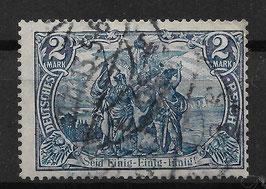 Deutsches Reich GERMANIA 95 A I gestempelt (BPP JÄSCHKE) (3)