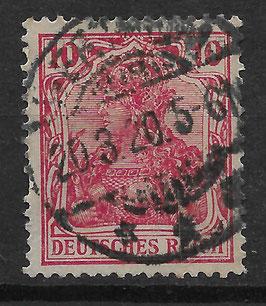 Deutsches Reich GERMANIA o. WZ 71 gestempelt (V)