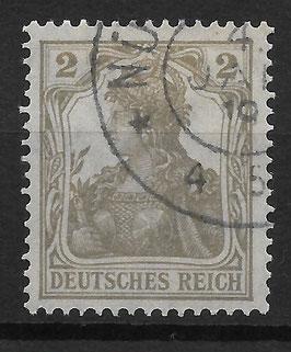 Deutsches Reich GERMANIA 102 gestempelt (2)