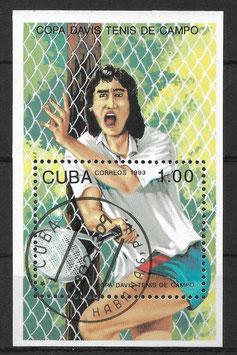 CUBA Block 133 gestempelt