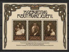 Liechtenstein Block 11 postfrisch (2)