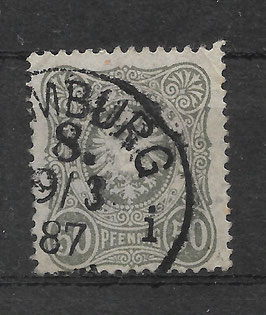 Deutsches Reich PFENNIG 44 Ia gestempelt (BPP WIEGAND) (4)