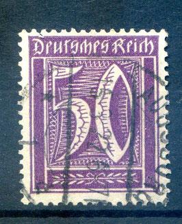 Deutsches Reich FREIMARKE 164 gestempelt