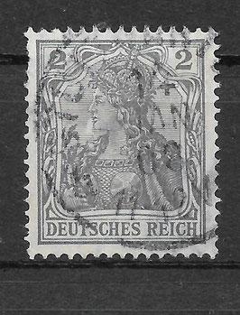 Deutsches Reich GERMANIA 83 I gestempelt (BPP JÄSCHKE) (II)