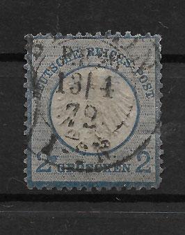 Deutsches Reich BRUSTSCHILD 5 gestempelt (BPP KRUG) (5)